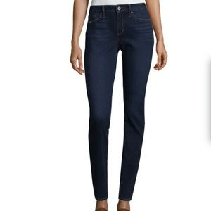 a.n.a skinny ankle jeans